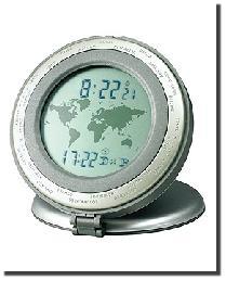 World Travel Alarm Clock by