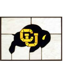 Colorado Buffalos Window by
