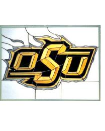 Oklahoma State Cowboys Window by