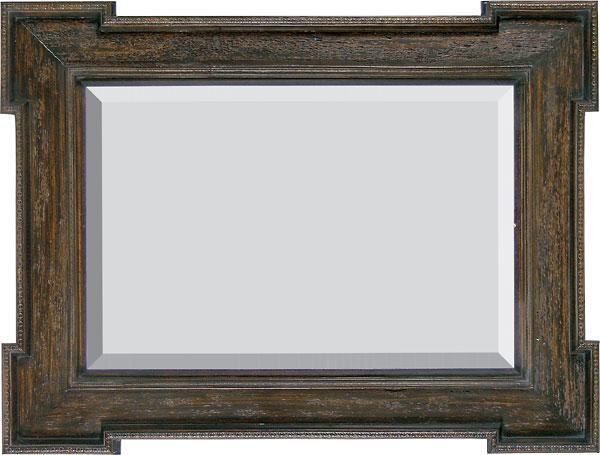 Rustic simplicity mirror interiordecorating for Rustic simplicity