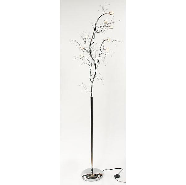 Crystal Branch Floor Lamp - InteriorDecorating