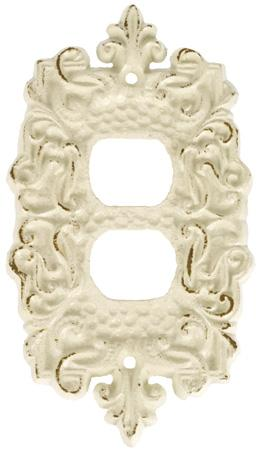 Ornate Cast Iron Outlet Cover Accessories