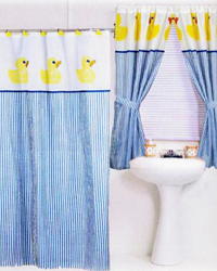 Ducky Shower Curtain by