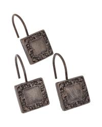 Lakewood Shower Curtain Hooks Oil Rubbed Bronze by