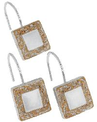 Lakewood Shower Curtain Hooks Silver by