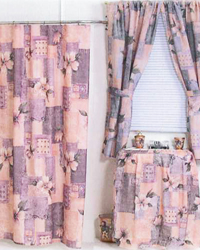 magnolia shower curtain by