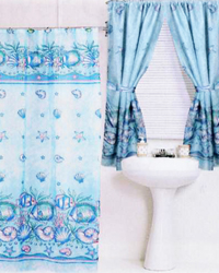 Oceanic Shower Curtain by