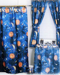 Solar Shower Curtain by