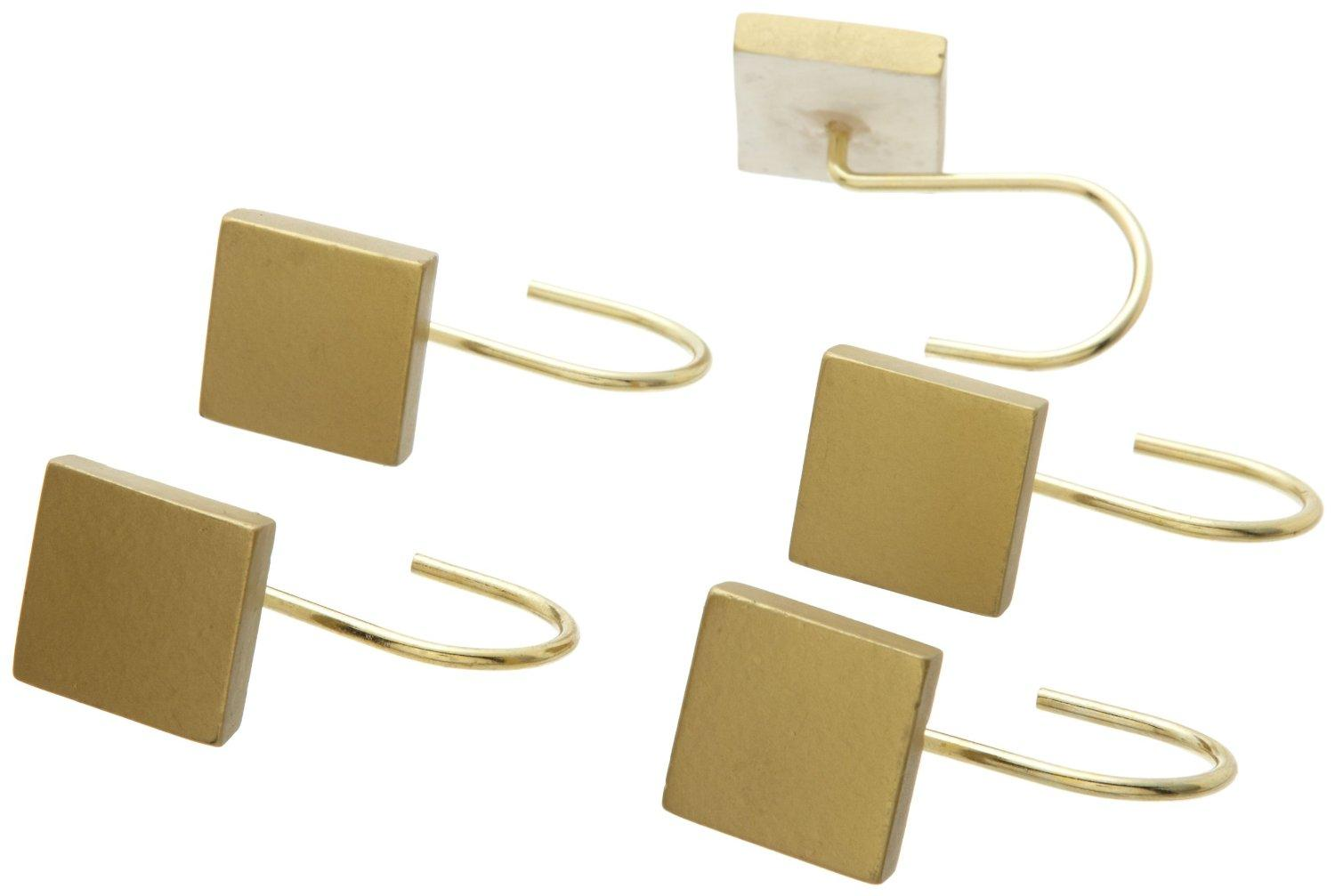 Dunmore Shower Curtain Hooks Antique Gold