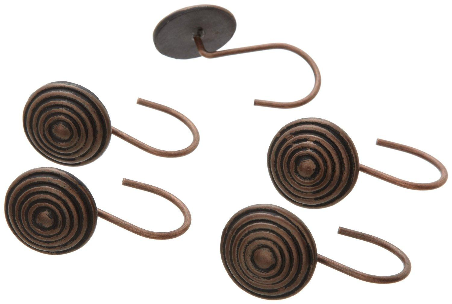 Hanover Shower Curtain Hooks Oil Rubbed Bronze Accessories