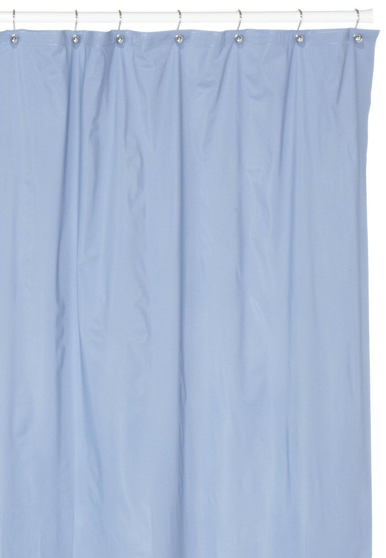 hotel quality 8 gauge vinyl shower curtain liner slate