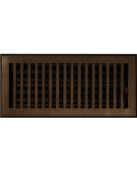 Contemporary Bronze Floor Register Return Air Grill by