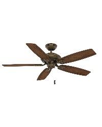 Utopian 52in Aged Bronze Damp Outdoor Fan by