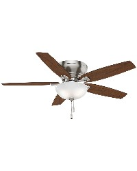 Durant 54in Brushed Nickel Fan by