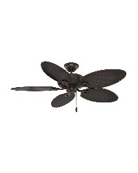 Charthouse 54in Onyx Bengal Wet Outdoor Fan by