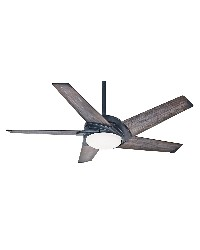 Stealth 54in Aged Steel Fan by