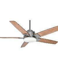 Zudio 56in Brushed Nickel Fan by