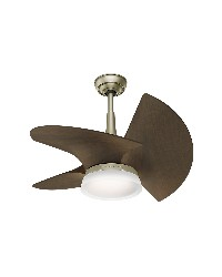 Orchid 30in Pewter Revival Damp Outdoor Fan by