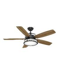 Caneel Bay 56in Aged Steel Damp Outdoor Fan by
