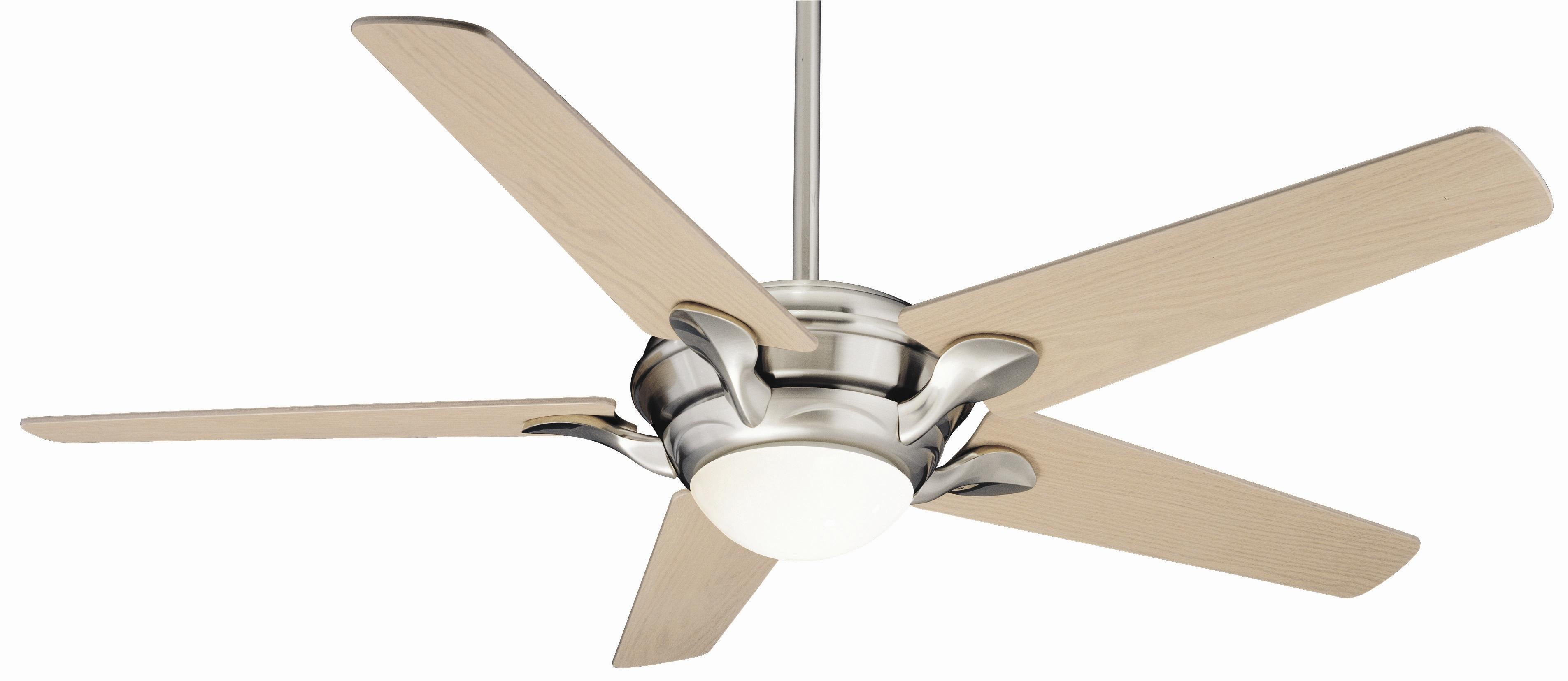 Bel Air Brushed Nickel Ceiling Fan