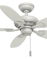 Fordham Cottage White 44in Ceiling Fan by