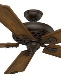 Fellini Brushed Cocoa 60in Ceiling Fan by