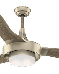 Perseus Metallic SunSand 64in Ceiling Fan Damp by