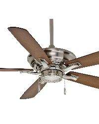 Academy Brushed Nickel Ceiling Fan by