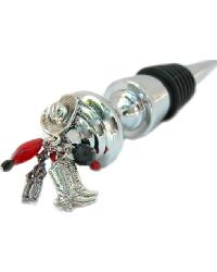 Cowboy Wine Stopper by