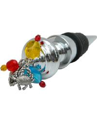 Crab Wine Stopper by