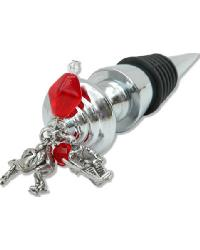 Hockey Wine Stopper by