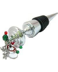 Snowman Wine Stopper by