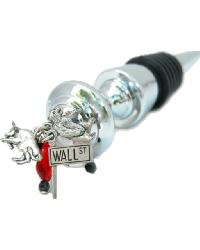 Wall Street Wine Stopper by
