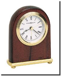 Rosewood Arch Clock by