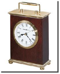 Rosewood Bracket Desk Clock by