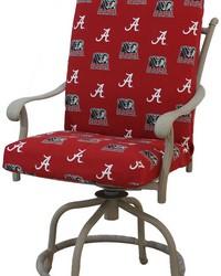 Alabama Crimson Tide 2pc Chair Cushion by