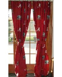 Alabama Crimson Tide Curtain Panels by