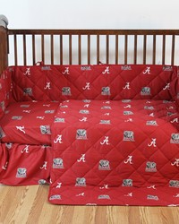 Alabama Crimson Tide Crib Bedding Set by