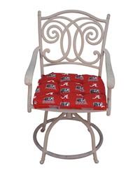 Alabama Crimson Tide D Cushion 20 in  x 20 in  by