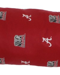Alabama Crimson Tide Printed Body Pillow  20 in  x 60 in  by