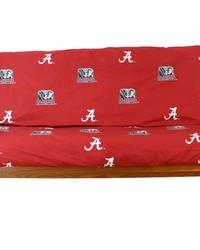Alabama Crimson Tide Full Size 8 in. Futon Cover by