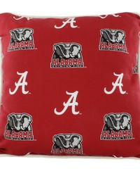 Alabama Crimson Tide Outdoor Decorative Pillow 16 in  x 16 in  by