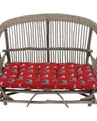 Alabama Crimson Tide Settee Cushion by