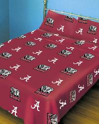 Alabama Crimson Tide Sheet Set - Red by