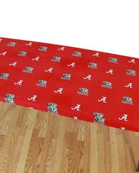 Alabama Crimson Tide 6 Table Cover  72 in  x 30 in  by