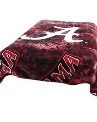 Alabama Crimson Tide Throw Blanket   Bedspread by