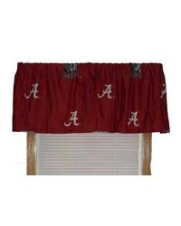 Alabama Crimson Tide Standard Valance by