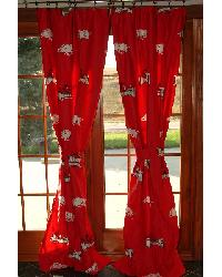 Arkansas Razorbacks Curtain Panels By