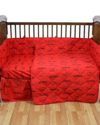 Arkansas Razorbacks Crib Bedding Set by
