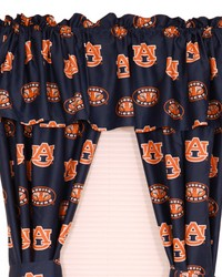 Auburn Tigers Printed Curtain Panels 42 in  x 63 in  by